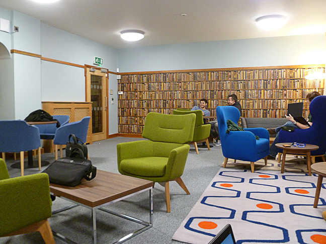 Leicester University Group Study Room